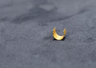 Earfold - Correzione orecchie prominenti - Clip in oro 24 carati per la correzione delle orecchie a sventola